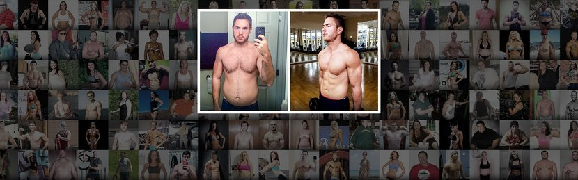 The 24-Year-Old Who Slashed His Body-Fat Percentage In Half!