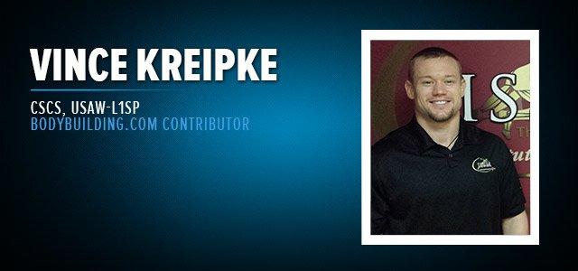 Vince Kreipke, CSCS