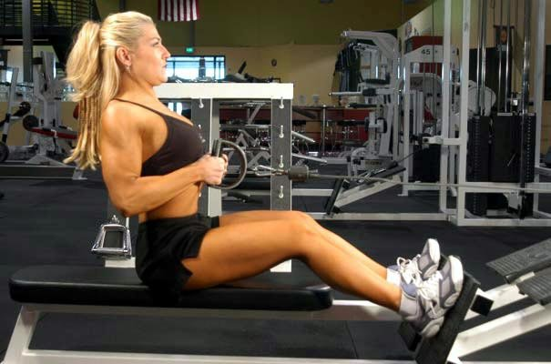 Exercise Of The Week: Rows Using Barbells & Machines.
