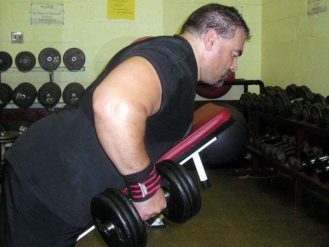 Exercise Of The Week One Arm Dumbbell Rows