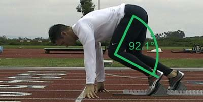 To Get An Extremely Rough Estimate Of This Put On Your Sprint Spikes And Go 2 Foot Lengths From The Start Line Front Pedal