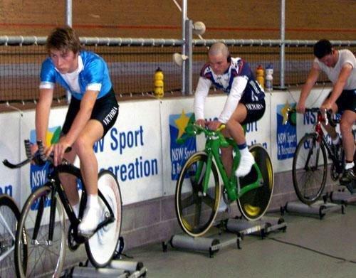 Rollers sharpen your bike-handling skills