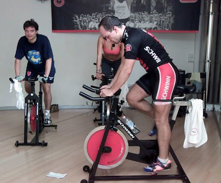 Spinning is one of the newest and hottest exercise fads.