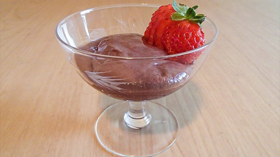 Decadent Chilled Protein Pudding
