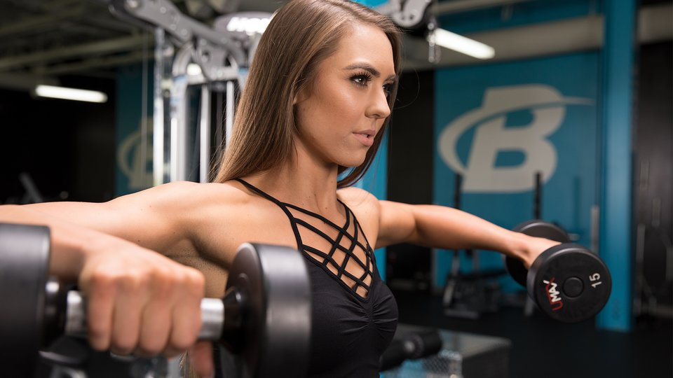 12 Move Upper Body Workout For Women Bodybuilding Com