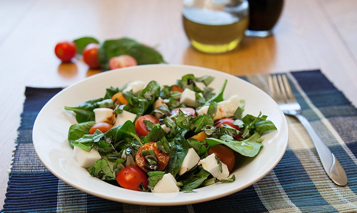Quick And Easy To Make This Salad Has All The Delicious Flavor Of A Traditional Caprese Side Dish With Added Antioxidant Loaded Herbs