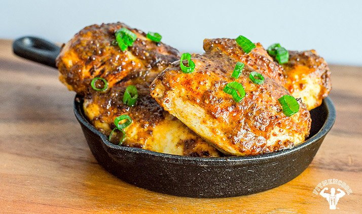 TEXAS GOLD RUSH CHICKEN BREAST