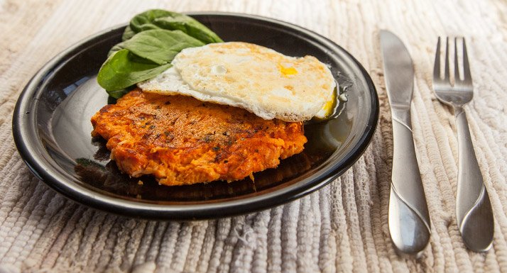Sweet Potato Parmesan Patty