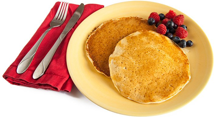 Protein Pancakes With Fruit