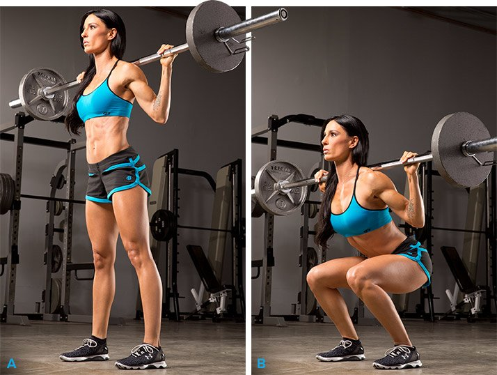 Use large, compound exercises such as squats or step-ups instead of  isolation moves like leg extensions and leg curls. For your upper body,  perform push-ups ...