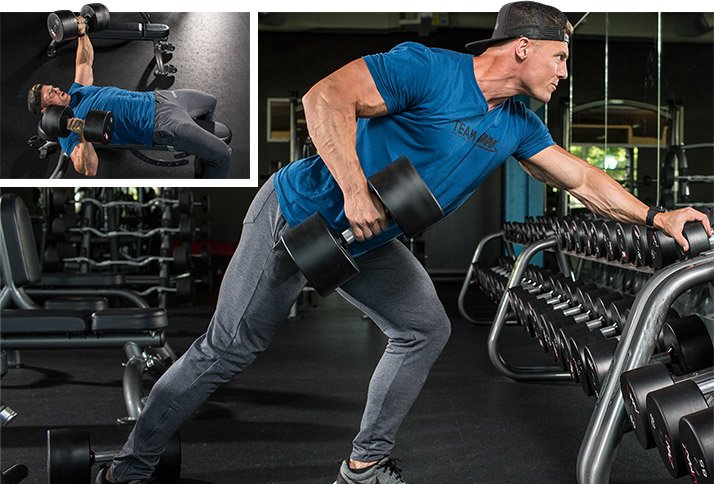 steve cook s strength building chest and back workout