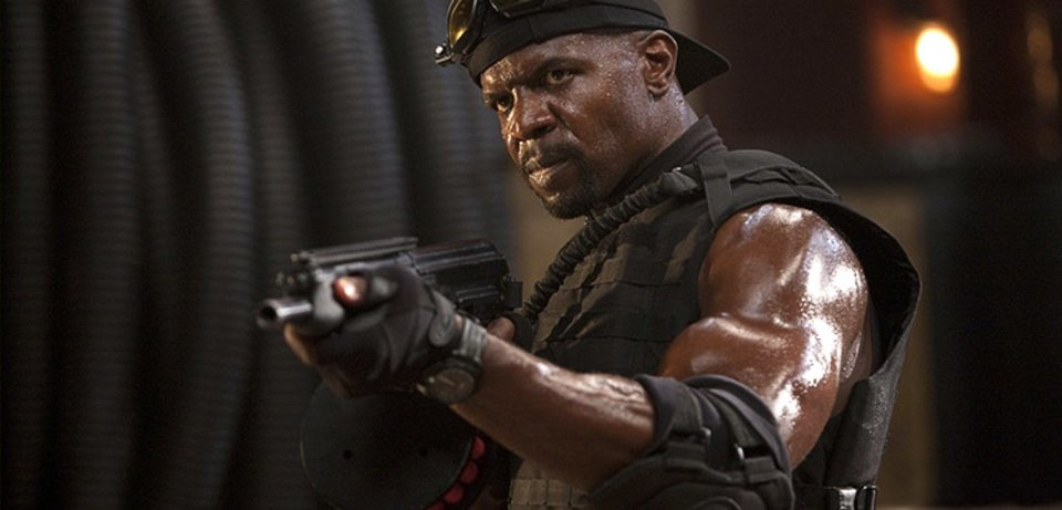 Terry Crews' Expendables Workout: Learn His Favorite Four