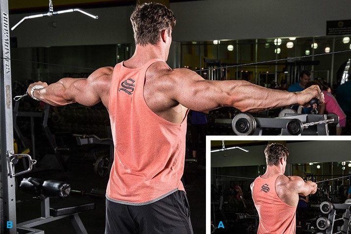 Rear Delt Cable Fly