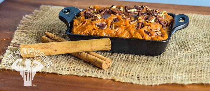 Honeyed Pecan Sweet Potato Casserole