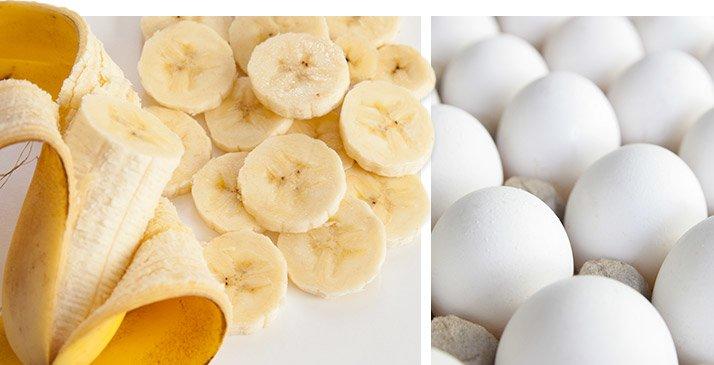 Egg Whites That Taste Just Like Bananas Foster