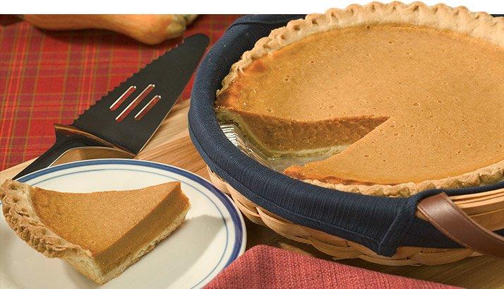 Opt for pumpkin pie.