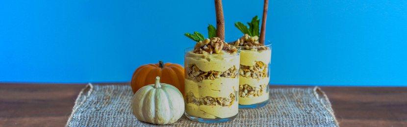 Fall Treats: Protein Pumpkin Parfait