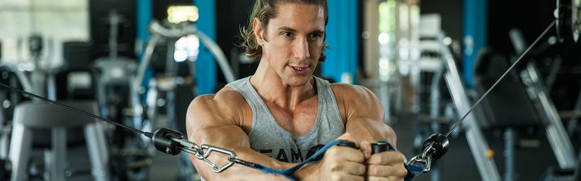 Shaun Stafford's Shoulder-Friendly Chest And Back Workout