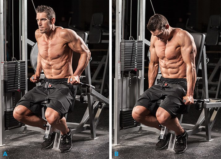 Triceps Dip Machine