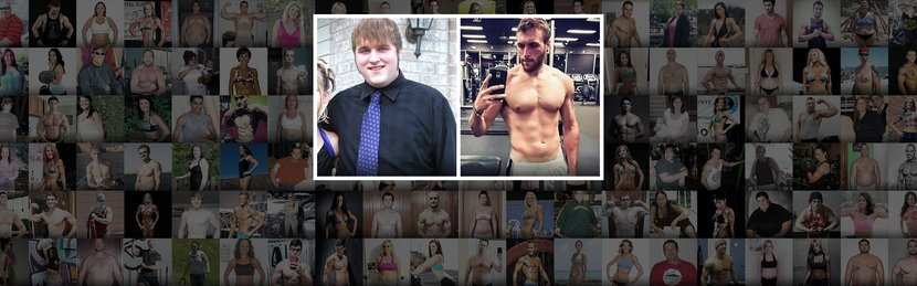 Alex Went From Overweight Teen To Ripped Adult!