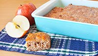 Jamie Eason's LiveFit Recipes: Low-Carb Apple Cinnamon Protein Bars