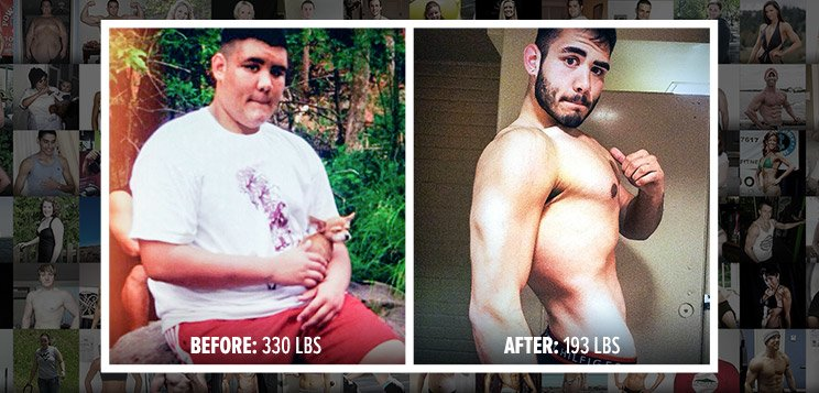 Mark Lost 130 Pounds On A College-Student's Budget