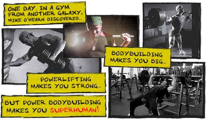 One day in a gym from another galaxy Mike O'hearn discovered