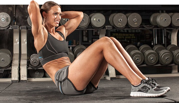 Crunches and Janda sit-ups primarily work the largest abdominal muscle, the rectus abdominis, which flexes the spine.