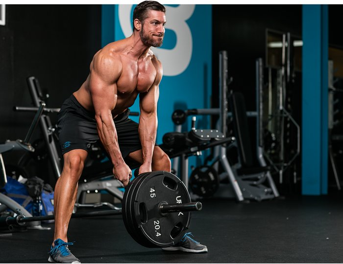 5 best shoulder workouts for mass an intermediate guide t bar row publicscrutiny Gallery