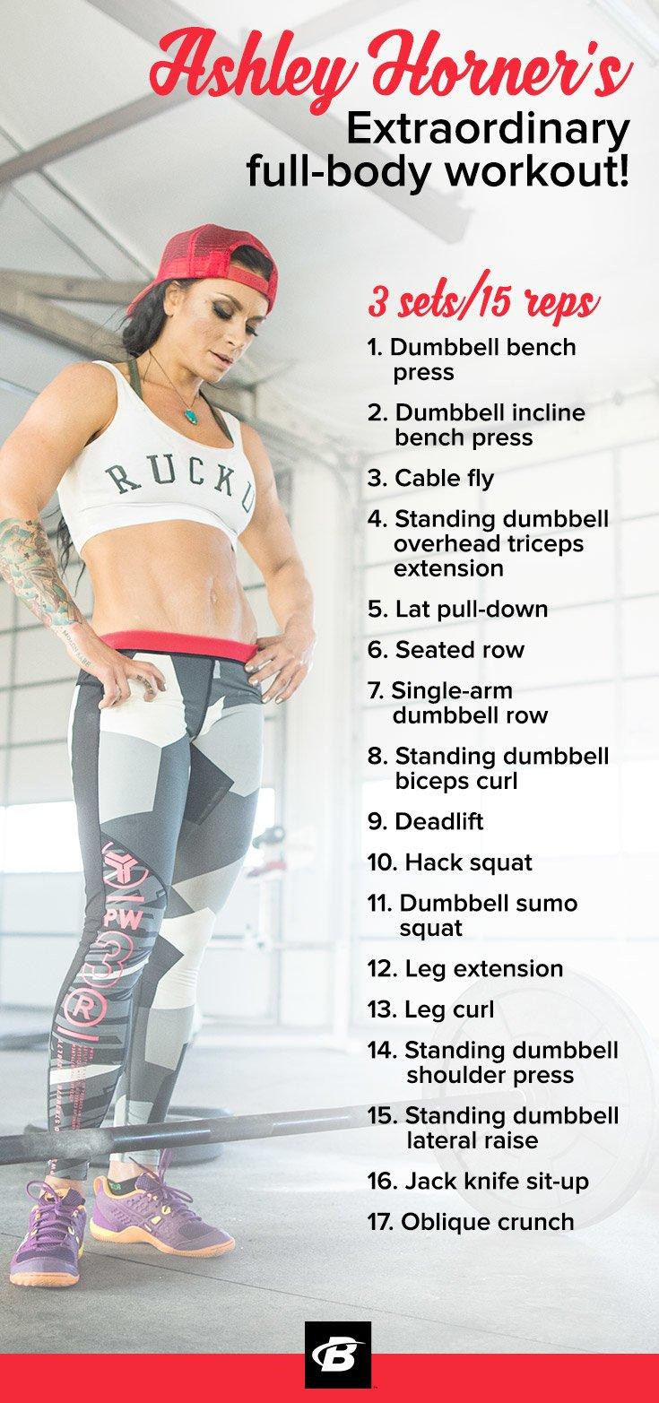 Ashley Horner's Extraordinary Full-Body Workout