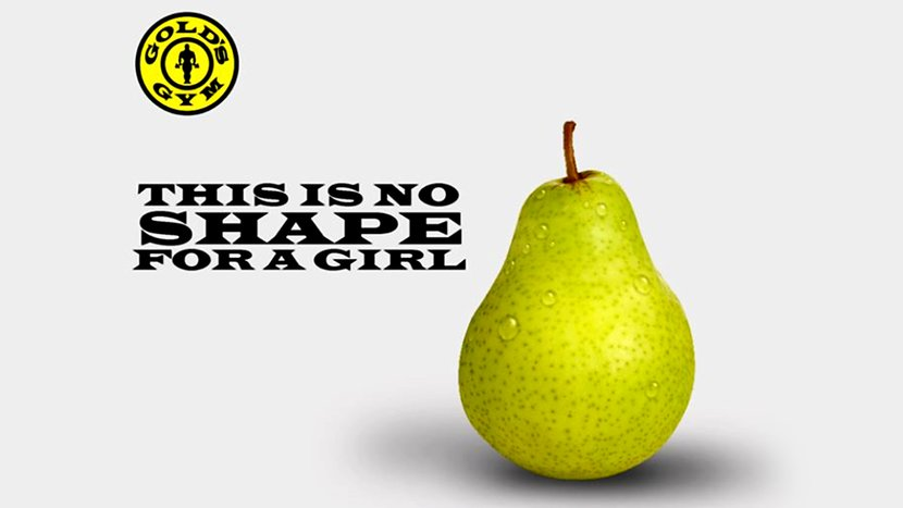 Gold's Gym Sends A Rotten Message With Fruit Ad