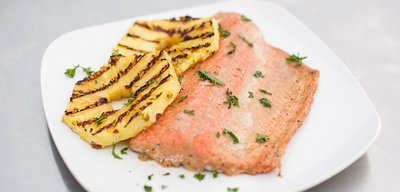 Healthy Grilled Salmon With Sweet Or Smoky Glaze!