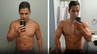This Police Officer Regained His Fit Physique!
