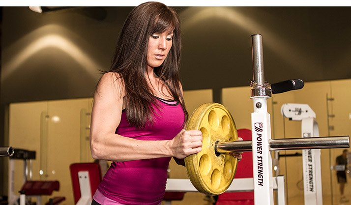 Your rep range should dictate the amount of weight you lift.