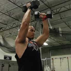 Hammer Curl To Shoulder Press