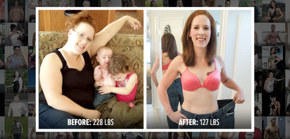 Karen Traded Baby Weight For Lifting Weights!