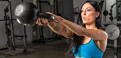 Ladies: Bring In The New Rear With Kettlebells!