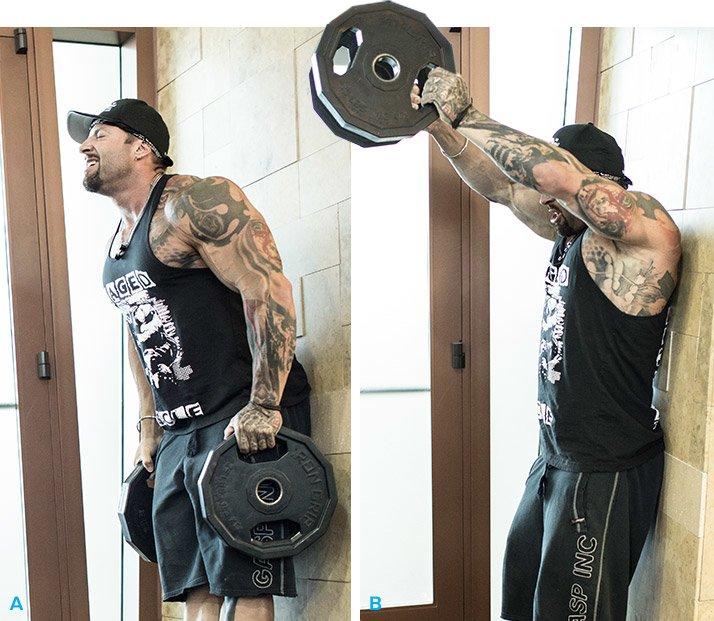 Plates Of Pain Kris Gethin S Shoulder Workout