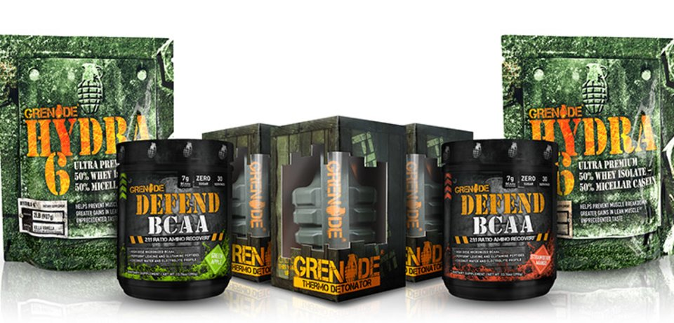 Supplement Company Of The Month: Grenade