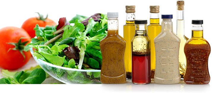 Ordering a salad might seem like a healthy choice, but sauces, dressing, ketchup, and oils all have calories you might forget