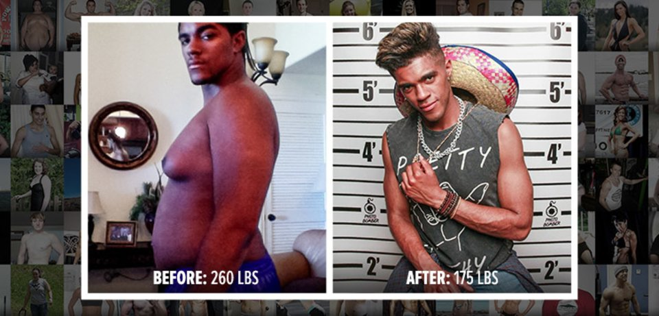 From Overweight Teen To Model In One Year!