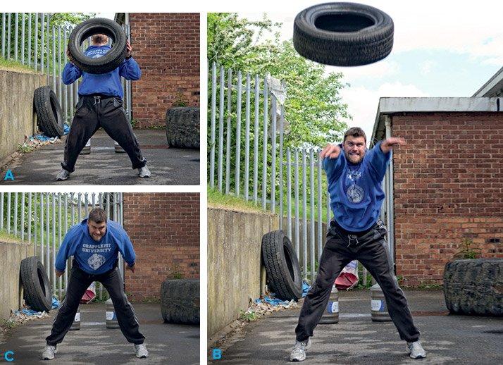 Junkyard gym workout build your own backyard gym