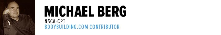 Michael Berg, NSCA-CPT