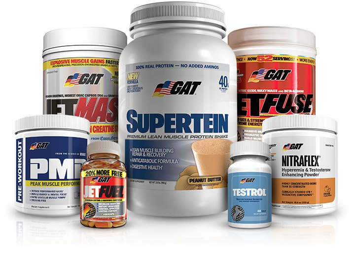 Supplement Company Of The Month: GAT