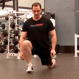Two-Step Hip Stretch
