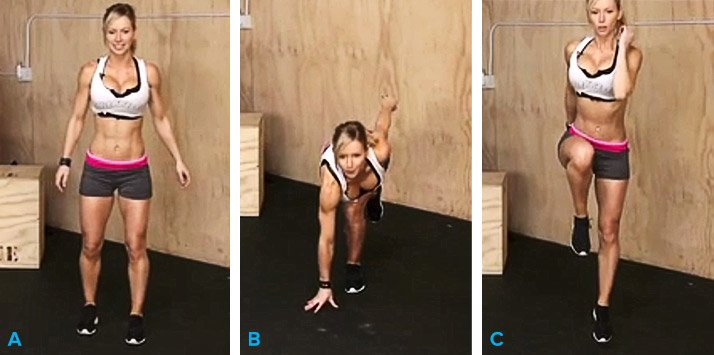 One-Leg Plyometric Balance