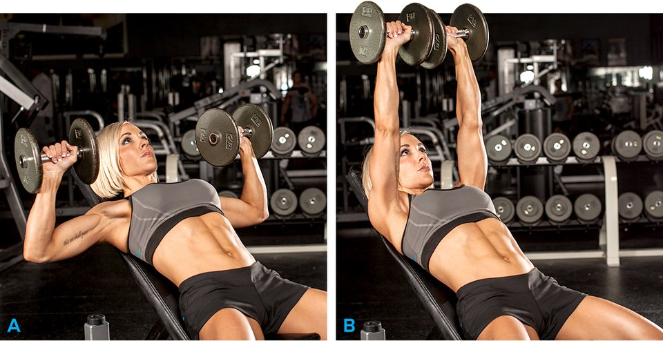 how to build upper chest at home