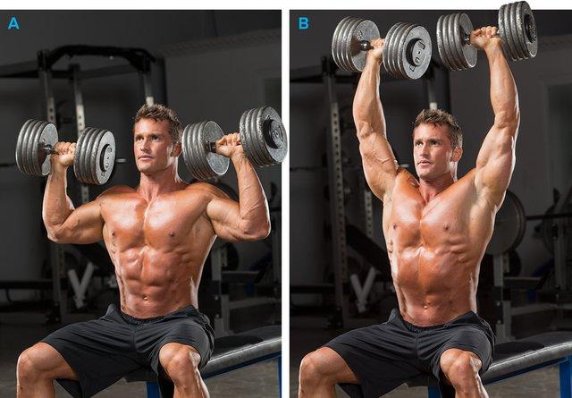 Full Body Dumbbell Workout For S