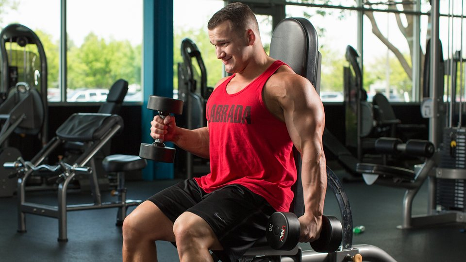 Awesome Arms Workout: Arms By Labrada   Bodybuilding.com