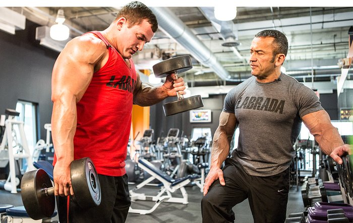 Awesome Arms Workout By Labrada